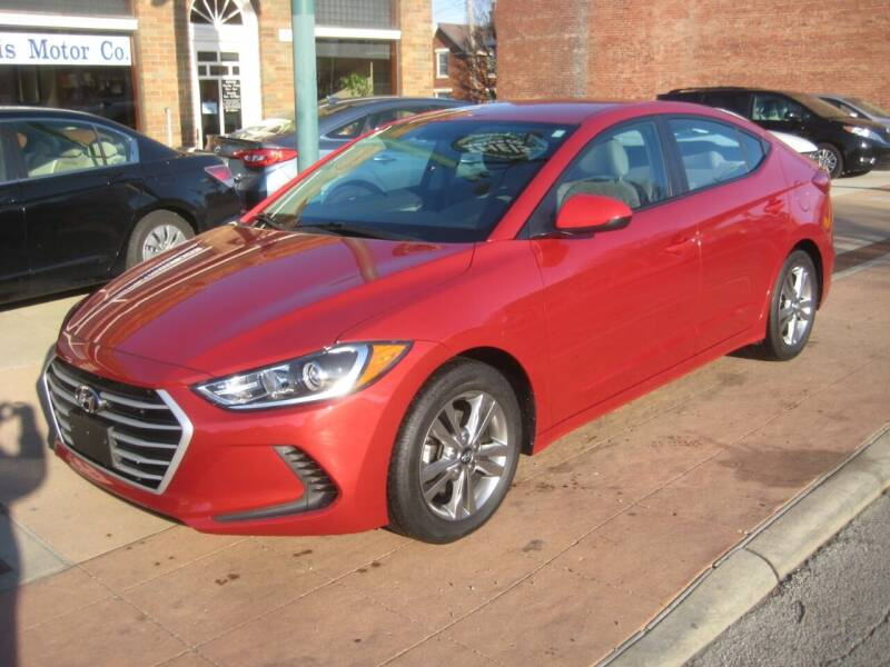 2017 Hyundai Elantra for sale at Theis Motor Company in Reading OH