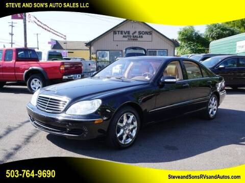 2003 Mercedes-Benz S-Class for sale at Steve & Sons Auto Sales in Happy Valley OR