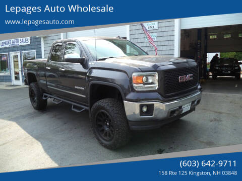 2014 GMC Sierra 1500 for sale at Lepages Auto Wholesale in Kingston NH
