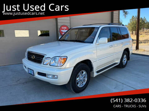2002 Lexus LX 470 for sale at Just Used Cars in Bend OR