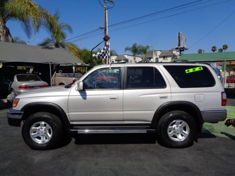 1999 Toyota 4Runner for sale at Pauls Auto in Whittier CA