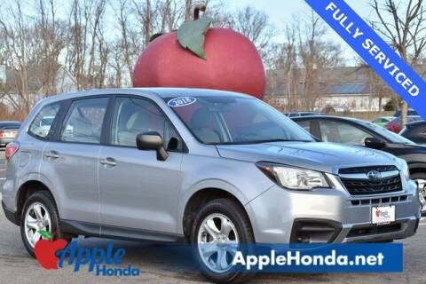 2018 Subaru Forester for sale at APPLE HONDA in Riverhead NY