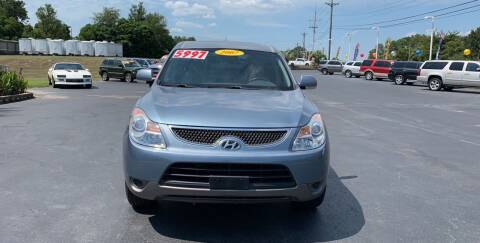 2007 Hyundai Veracruz for sale at Rock 'n Roll Auto Sales in West Columbia SC