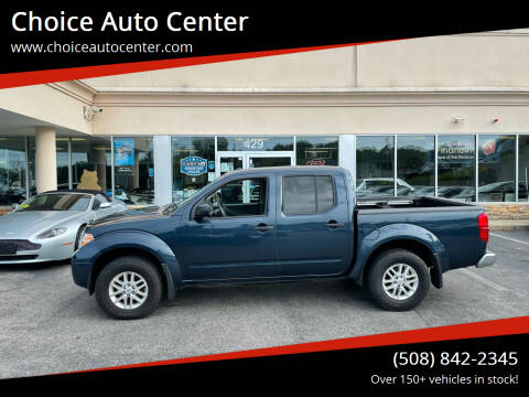 2015 Nissan Frontier for sale at Choice Auto Center in Shrewsbury MA