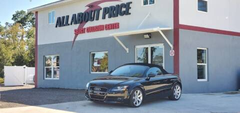 2008 Audi TT for sale at All About Price in Bunnell FL