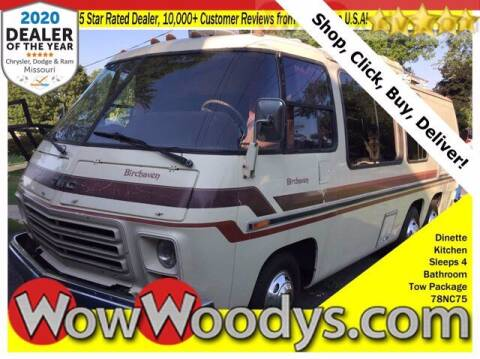 1978 GMC Birchaven Motorhome for sale at WOODY'S AUTOMOTIVE GROUP in Chillicothe MO