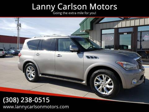 2013 Infiniti QX56 for sale at Lanny Carlson Motors in Kearney NE