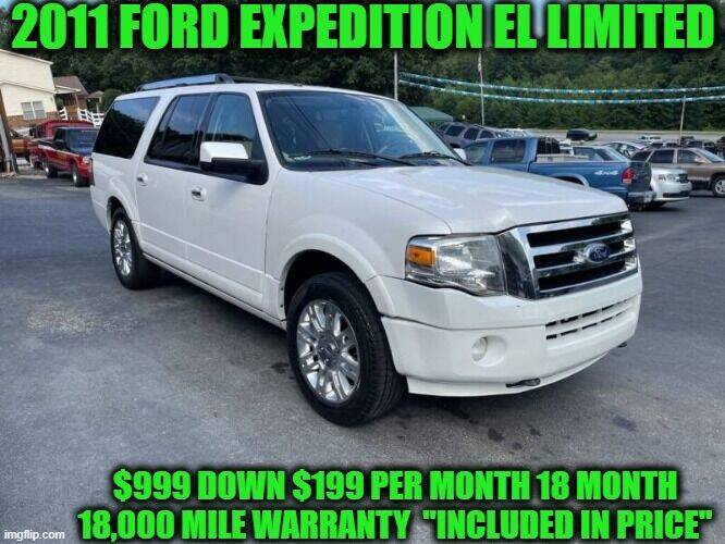 2011 Ford Expedition EL for sale at D&D Auto Sales, LLC in Rowley MA