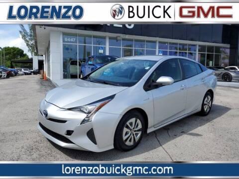 2016 Toyota Prius for sale at Lorenzo Buick GMC in Miami FL
