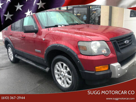 2008 Ford Explorer for sale at Sugg Motorcar Co in Boyertown PA