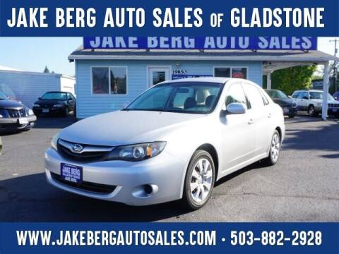 2011 Subaru Impreza for sale at Jake Berg Auto Sales in Gladstone OR