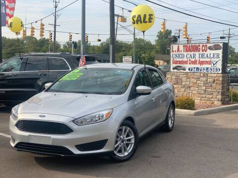 2016 Ford Focus for sale at L.A. Trading Co. in Woodhaven MI
