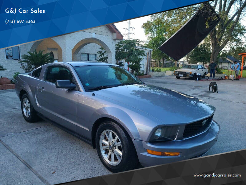 2007 Ford Mustang for sale at G&J Car Sales in Houston TX