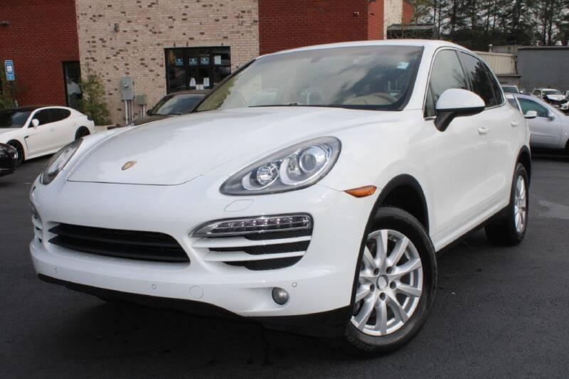 2012 Porsche Cayenne for sale at Atlanta Unique Auto Sales in Norcross GA