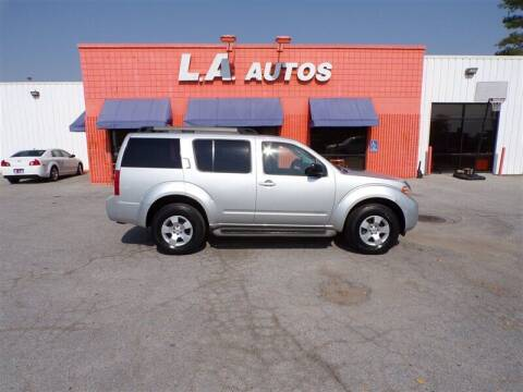 2008 Nissan Pathfinder for sale at L A AUTOS in Omaha NE