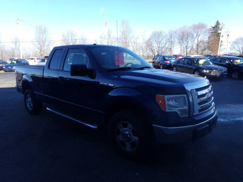 2010 Ford F-150 for sale at Pool Auto Sales Inc in Spencerport NY