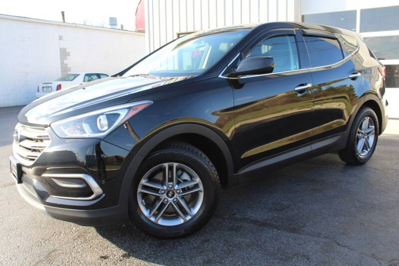 2017 Hyundai Santa Fe Sport for sale at Platinum Motors LLC in Reynoldsburg OH