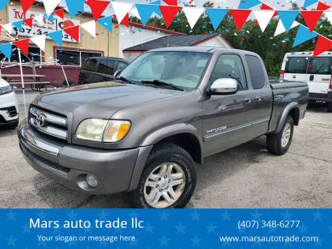 2004 Toyota Tundra for sale at Mars auto trade llc in Kissimmee FL
