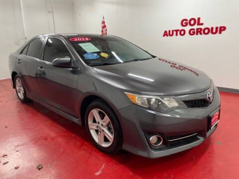 2014 Toyota Camry for sale at GOL Auto Group in Austin TX