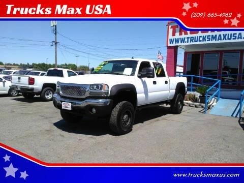 2006 GMC Sierra 2500HD for sale at Trucks Max USA in Manteca CA