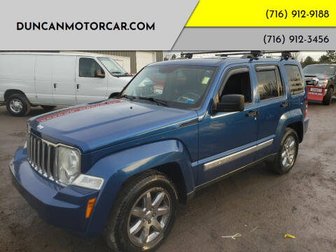 2009 Jeep Liberty for sale at DuncanMotorcar.com in Buffalo NY