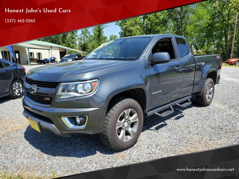 2015 Chevrolet Colorado for sale at Honest John's Used Cars in Deridder LA