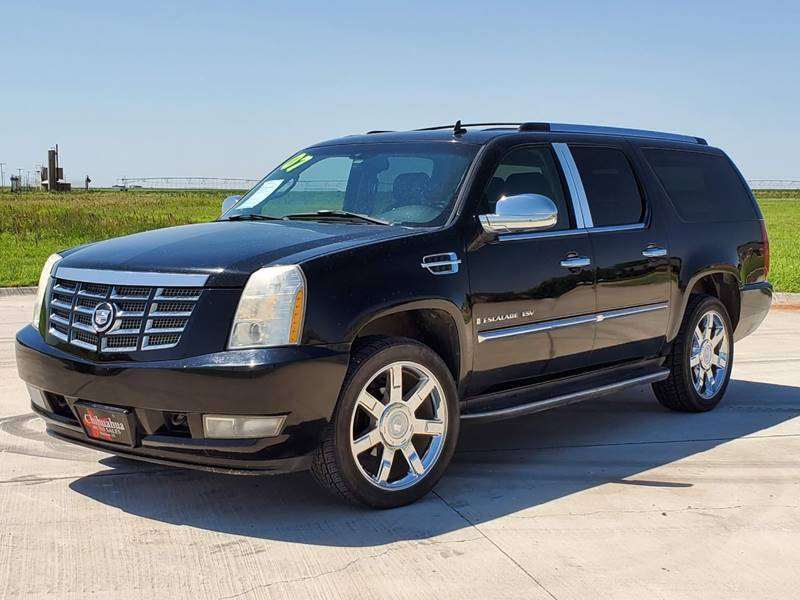 2007 Cadillac Escalade ESV for sale at Chihuahua Auto Sales in Perryton TX