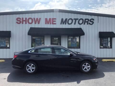 2017 Chevrolet Malibu for sale at SHOW ME MOTORS in Cape Girardeau MO