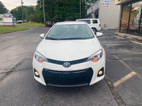 2016 Toyota Corolla for sale at BRAVA AUTO BROKERS LLC in Clarkston GA
