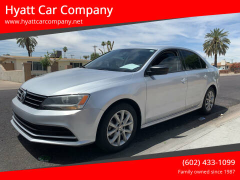 2015 Volkswagen Jetta for sale at Hyatt Car Company in Phoenix AZ
