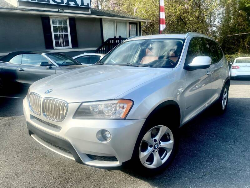 2011 BMW X3 for sale at Regal Auto Sales in Marietta GA
