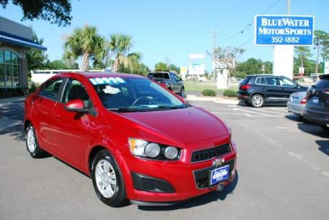 2016 Chevrolet Sonic for sale at BlueWater MotorSports in Wilmington NC