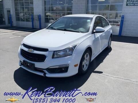 2015 Chevrolet Cruze for sale at KEN BARRETT CHEVROLET CADILLAC in Batavia NY