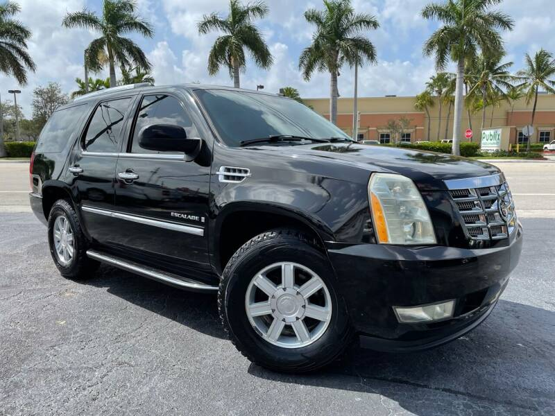 2007 Cadillac Escalade for sale at Kaler Auto Sales in Wilton Manors FL