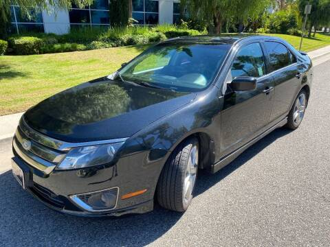 2011 Ford Fusion for sale at Donada  Group Inc in Arleta CA