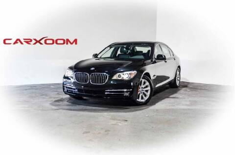 2013 BMW 7 Series for sale at CarXoom in Marietta GA