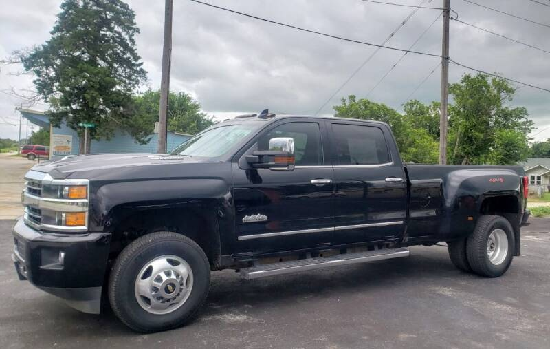 2019 Chevrolet Silverado 3500HD for sale at Rons Auto Sales in Stockdale TX