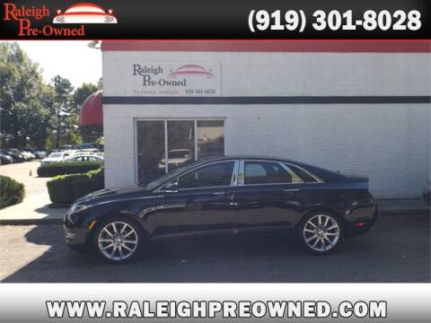 2016 Lincoln MKZ for sale at Raleigh Pre-Owned in Raleigh NC