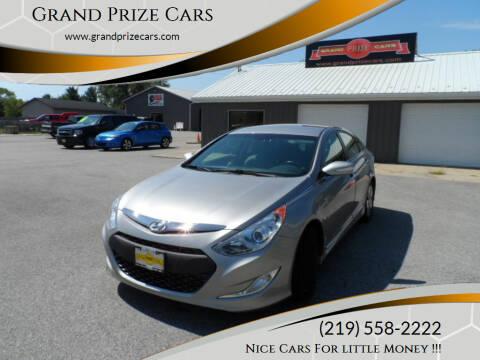2013 Hyundai Sonata Hybrid for sale at Grand Prize Cars in Cedar Lake IN