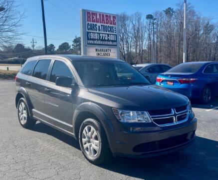 2015 Dodge Journey for sale at Reliable Cars & Trucks LLC in Raleigh NC