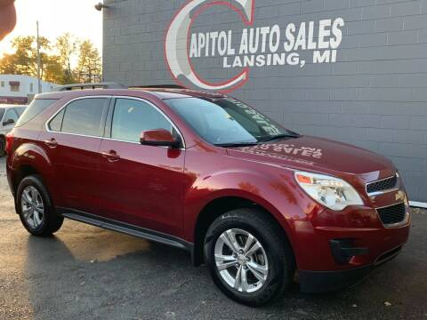 2012 Chevrolet Equinox for sale at Capitol Auto Sales in Lansing MI