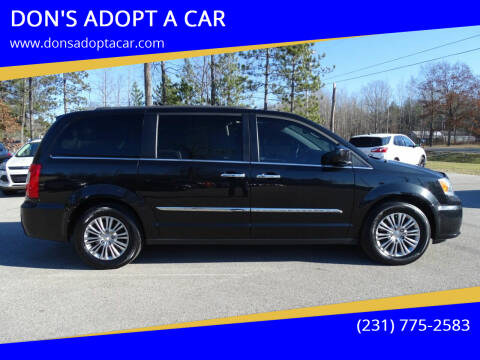 2016 Chrysler Town and Country for sale at DON'S ADOPT A CAR in Cadillac MI