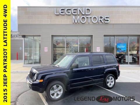 2015 Jeep Patriot for sale at Legend Motors of Detroit - Legend Motors of Waterford in Waterford MI