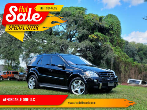 2007 Mercedes-Benz M-Class for sale at AFFORDABLE ONE LLC in Orlando FL