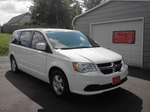 2012 Dodge Grand Caravan for sale at Marty's Auto Sales in Lenoir City TN