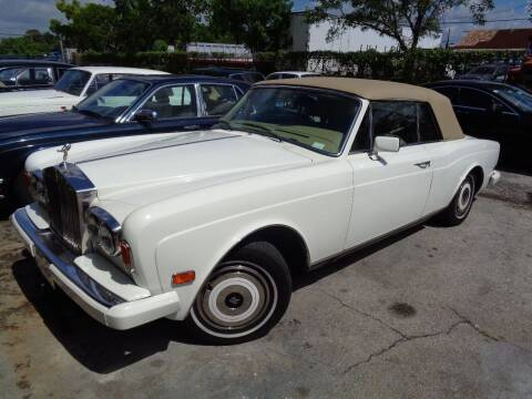 1985 Rolls-Royce Corniche for sale at Prestigious Euro Cars in Fort Lauderdale FL