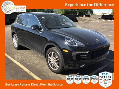 2018 Porsche Cayenne for sale at Dallas Auto Finance in Dallas TX