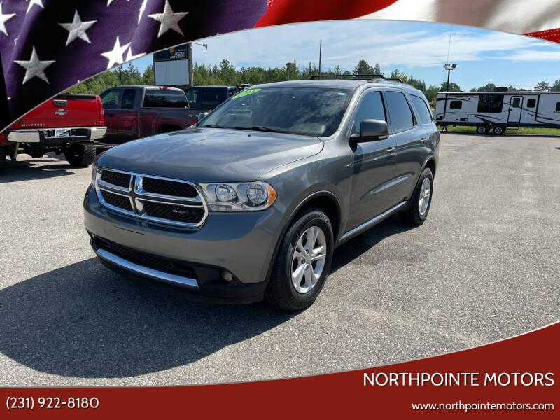 2011 Dodge Durango for sale at Northpointe Motors in Kalkaska MI