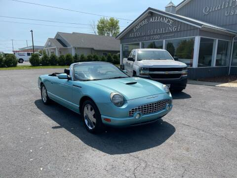 2002 Ford Thunderbird for sale at Empire Alliance Inc. in West Coxsackie NY