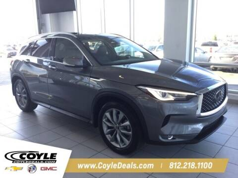 2019 Infiniti QX50 for sale at COYLE GM - COYLE NISSAN - Coyle Nissan in Clarksville IN